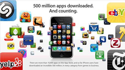 500.000.000 de apps