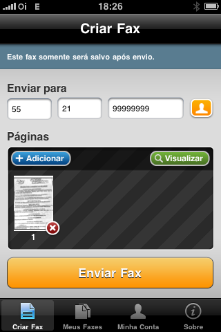 envios de fax