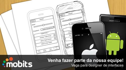 Procura-se designer de interfaces
