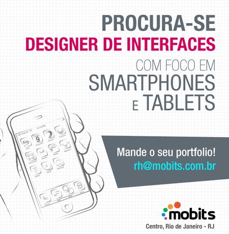 Vaga para designer de interfaces na Mobits