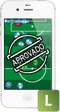 Aprovaçao nacional aos jogos da App Store