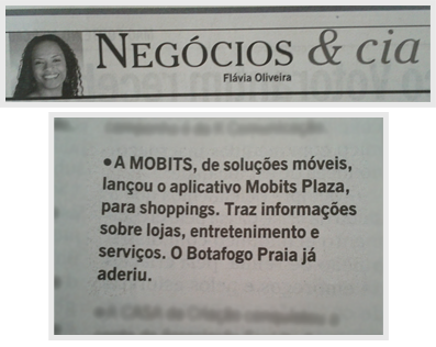 Mobits Plaza no O Globo