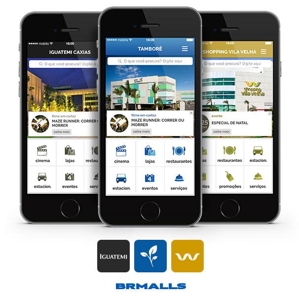 Aplicativos BRMalls