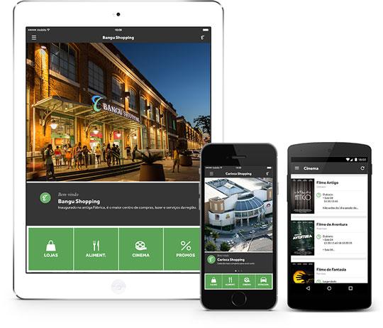 Aplicativo Bangu Shopping e Carioca Shopping