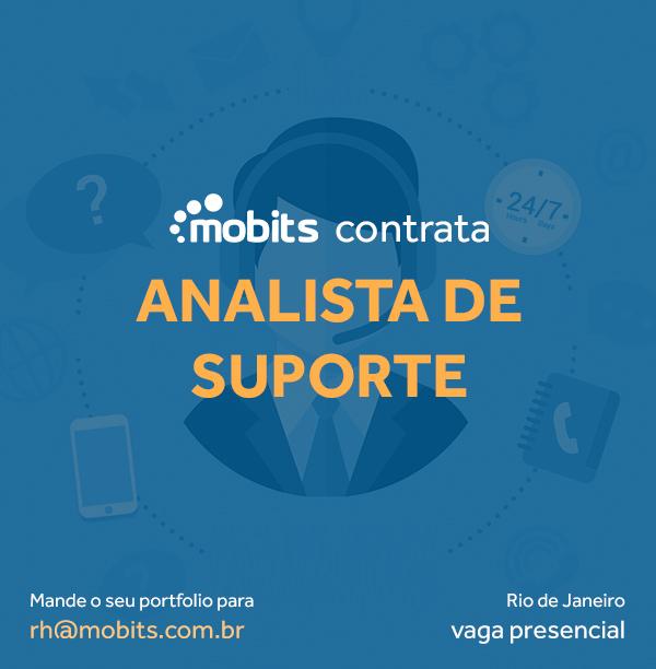 Mobits abre vaga para analista de suporte